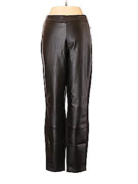 White House Black Market Faux Leather Pants Size 10