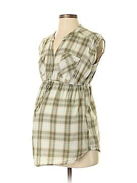 Motherhood Short Sleeve Button-Down Shirt Size S (Maternity)