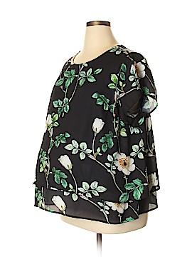 H&M Mama Short Sleeve Blouse Size XL (Maternity)