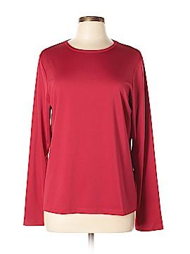 Susan Graver Long Sleeve T-Shirt Size L
