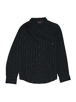 Hawk Long Sleeve Button-Down Shirt Size X-Large (Kids)