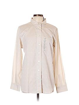 Lizwear by Liz Claiborne Long Sleeve Button-Down Shirt Size XL