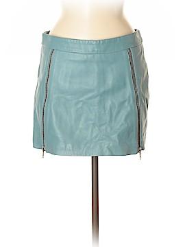 Ganni Leather Skirt Size Sm (1)