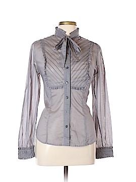 Isaac Mizrahi for Target Long Sleeve Button-Down Shirt Size L