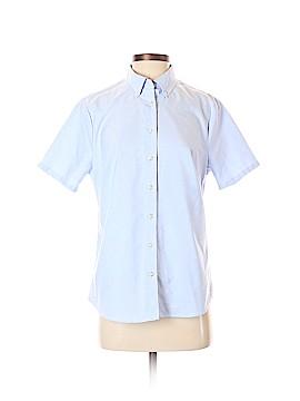 Lands' End Short Sleeve Button-Down Shirt Size S