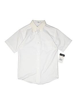 Van Heusen Short Sleeve Button-Down Shirt Size 12