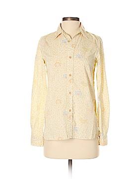 A.P.C. Long Sleeve Button-Down Shirt Size 34 (FR)