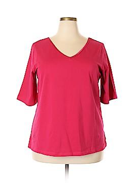 Jessica London Short Sleeve Top Size 18 - 20 Plus (Plus)