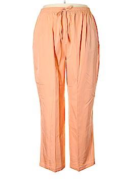Matthew Stevens Silk Pants Size 2X (Plus)