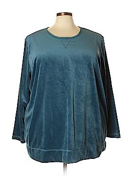 Woman Within Sweatshirt Size 30 (3X) (Plus)