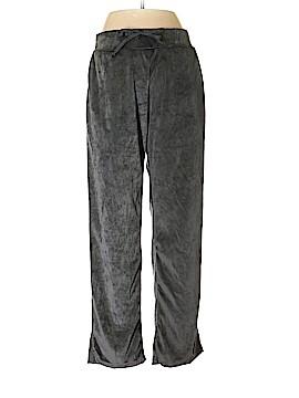 NY Apparel Velour Pants Size M