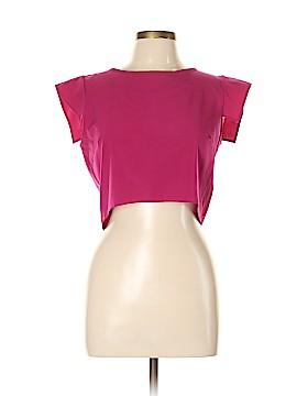 B Jewel Short Sleeve Blouse Size L