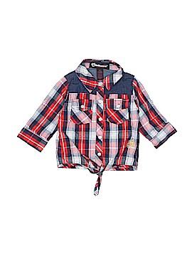 Dollhouse Long Sleeve Button-Down Shirt Size 2T