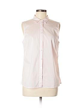 Ann Taylor Sleeveless Button-Down Shirt Size 8