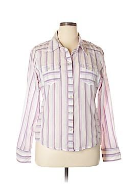 Calvin Klein Long Sleeve Button-Down Shirt Size XL