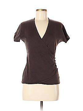 Ann Taylor Short Sleeve Silk Top Size M