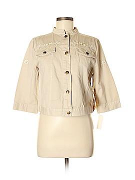 Caribbean Joe Denim Jacket Size M (Petite)