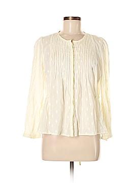 Ecote Long Sleeve Blouse Size M
