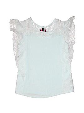 Iz Byer Short Sleeve Top Size 16