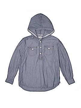 Peek... Long Sleeve Button-Down Shirt Size 14