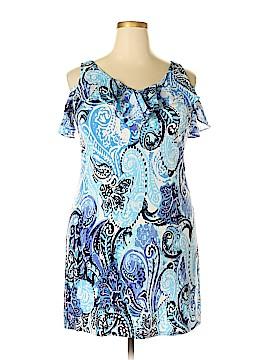 Roz & Ali Casual Dress Size XL