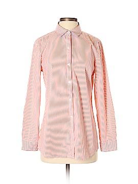 J. McLaughlin Long Sleeve Button-Down Shirt Size M