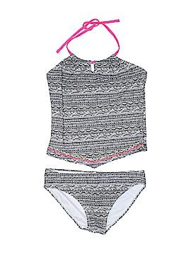 Breaking Waves Two Piece Swimsuit Size 16