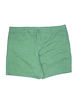 Faded Glory Khaki Shorts Size 20 (Plus)