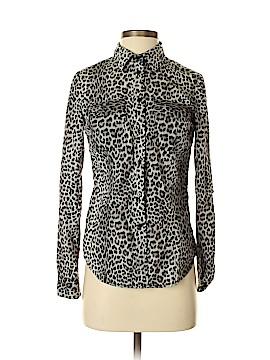 MICHAEL Michael Kors Long Sleeve Button-Down Shirt Size S