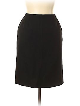 Yves Saint Laurent Rive Gauche Wool Skirt Size 44 (EU)