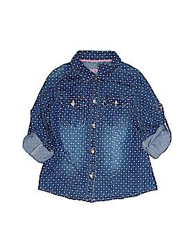 Genuine Kids from Oshkosh Long Sleeve Button-Down Shirt Size 6