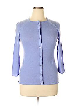 Lafayette 148 New York Silk Cardigan Size M
