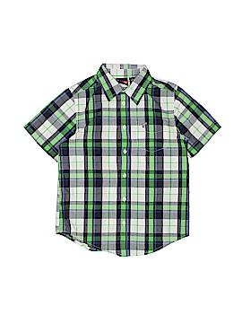 Wrangler Jeans Co Short Sleeve Button-Down Shirt Size 8