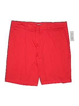 Per Se Khaki Shorts Size 20 (Plus)