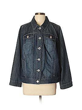 Cj Banks Denim Jacket Size 0X (Plus)