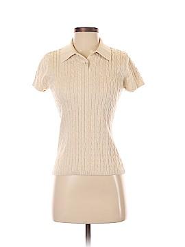 Jeanne Pierre Short Sleeve Polo Size S
