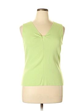 Geoffrey Beene Sport Sleeveless Top Size XL