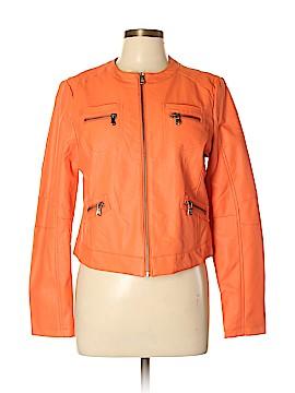 OBR Faux Leather Jacket Size L