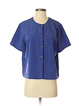 Orvis Short Sleeve Blouse Size M