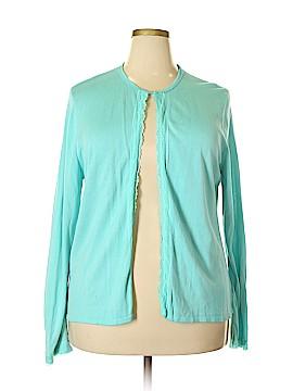 Maggie McNaughton Silk Cardigan Size 2X (Plus)