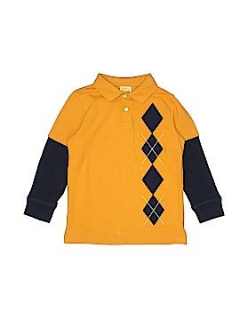 Crazy 8 Long Sleeve Polo Size 5 - 6
