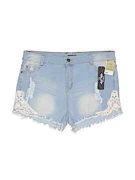 INDERO Denim Shorts Size XL