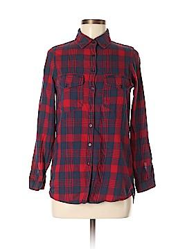 Japna Long Sleeve Button-Down Shirt Size M