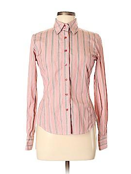 Faconnable Long Sleeve Button-Down Shirt Size 36 (EU)