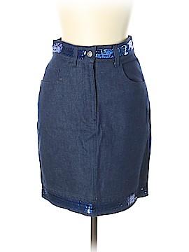 Moschino Jeans Denim Skirt Size 12