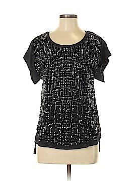 Rebecca Taylor Short Sleeve Silk Top Size XS