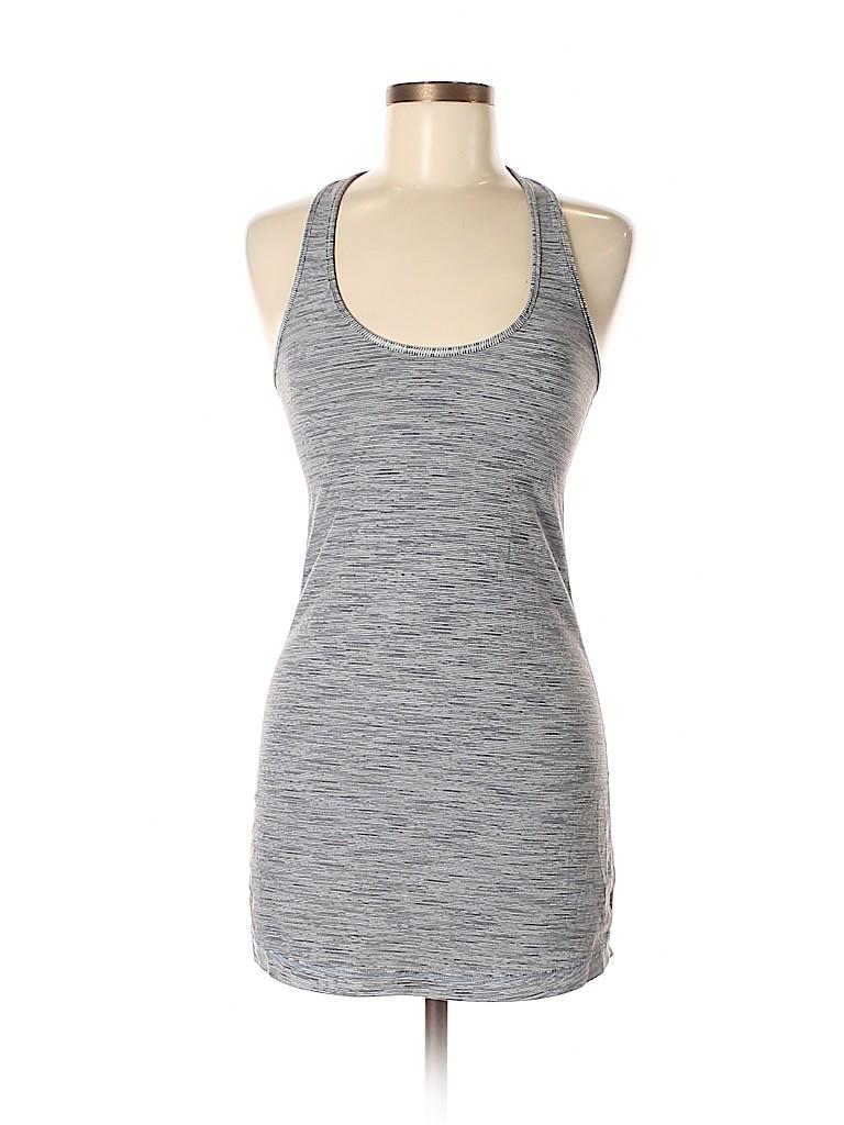 ac2156af7e760 Lululemon Athletica Print Gray Tank Top Size 8 - 60% off