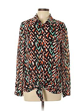 Jade Long Sleeve Blouse Size L