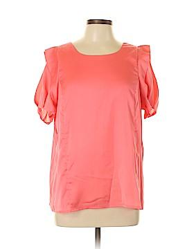 Joy Joy Short Sleeve Blouse Size L