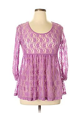 Weavers 3/4 Sleeve Blouse Size XL